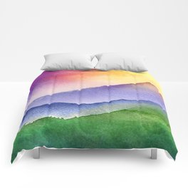 Sunrise Mountain Comforters