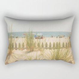 Sand Dunes Summer Rectangular Pillow