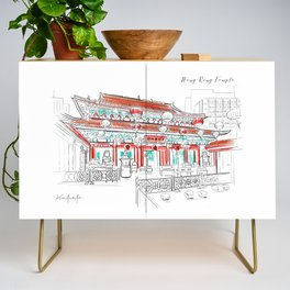 Wong Tai Sin Temple Credenza