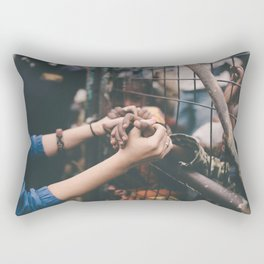 Connected. (Bound By Love) Rectangular Pillow