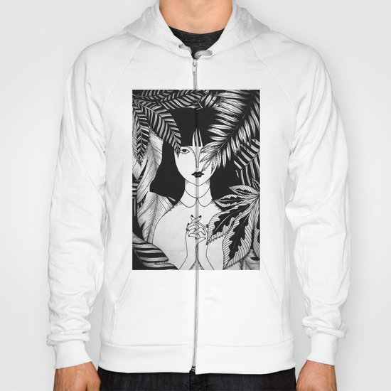 In the forest. Hoody