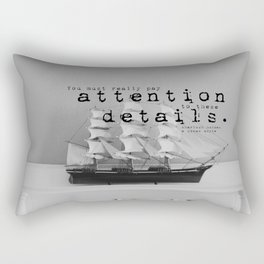 Attention Sherlock Holmes Rectangular Pillow