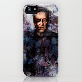 Christopher Walken Terminator iPhone Case