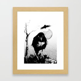 Carrion Bird Framed Art Print