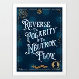 03 - Doctor Who Jon Pertwee Art Print