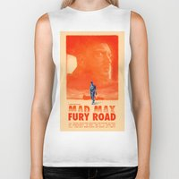 mad max Biker Tanks featuring Mad Max: Fury Road by days & hours