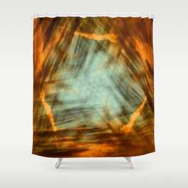 Heaven From Hell Shower Curtain