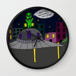 Drivers Education Wall Clock