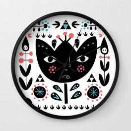 Folksy - Day Wall Clock