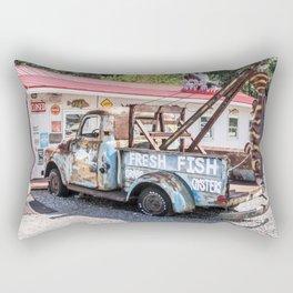 Fresh Fish Truck Rectangular Pillow