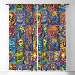 Zodiacdeco All Signs Blackout Curtain