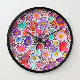 Not Just Pebbles Wall Clock