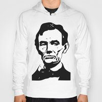 lincoln Hoodies featuring LINCOLN $ by b & c