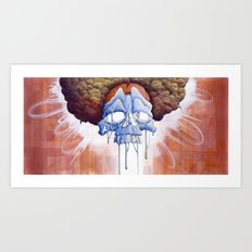 Drippy Hippy Art Print