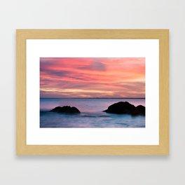 Natural Watercolors Framed Art Print