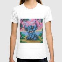 stitch T-shirts featuring Stitch by spiderdave7