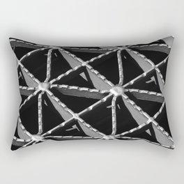 Grate Pattern Rectangular Pillow