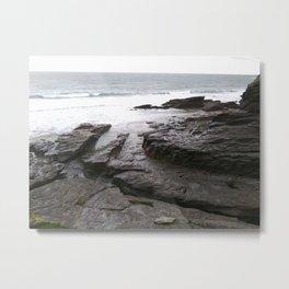 Trebarwith Cornwall Photo 767 Metal Print