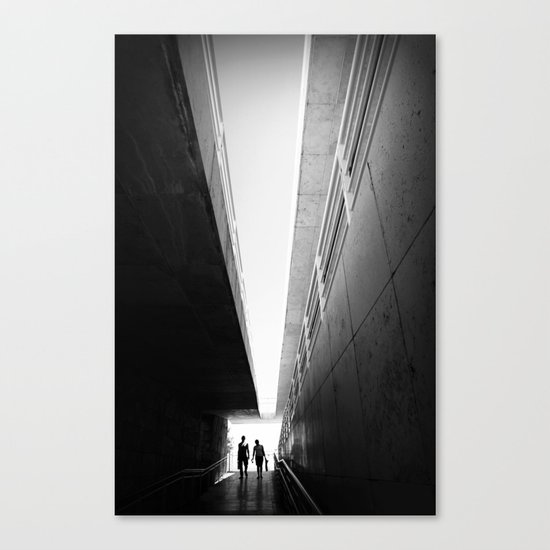 Perspective for two Canvas Print
