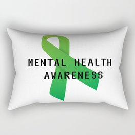 Mental Health Awareness Rectangular Pillow