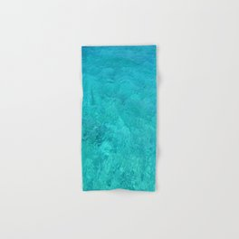 Clear Turquoise Water Hand & Bath Towel