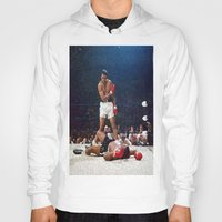 ali gulec Hoodies featuring Ali Painting by Neon Monsters