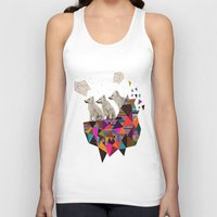 kris tate Tank Tops featuring The Night Playground by Peter Striffolino and Kris Tate by Kris Tate