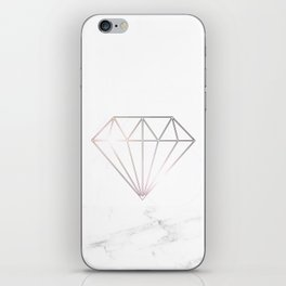 Diamond Marble iPhone Skin