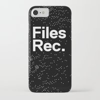 parks and rec iPhone & iPod Cases featuring Files Rec Logo by Files Rec