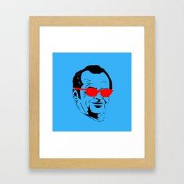 Here's Johnny Framed Art Print