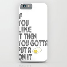 Single Egg Slim Case iPhone 6s