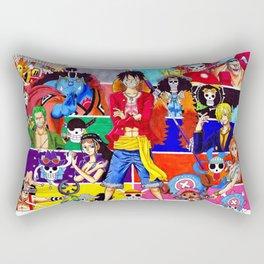 Straw Hat Crew Rectangular Pillow