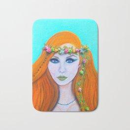 Redhead Poison Ivy Goddess Bath Mat