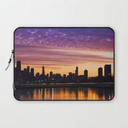 Chicago Sunset Laptop Sleeve