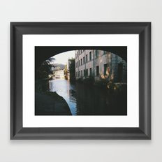 hebden bridge Framed Art Print