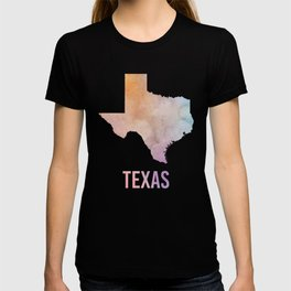 Watercolor State - TX T-shirt