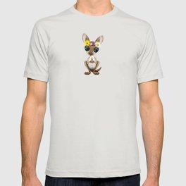 Cute Baby Kangaroo Hippie T-shirt
