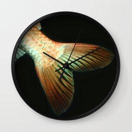 Fishy Tail Wall Clock