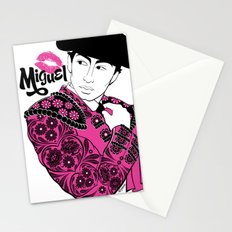 Cartoon Boyfriend© : Miguel Stationery Cards