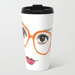 Hipster Eyes 2 Travel Mug