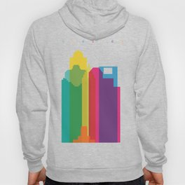 Shapes of Houston. Accurate to scale Hoody