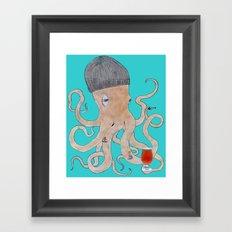 Octoland Framed Art Print