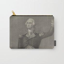 Vintage George Washington Portrait (1854) Carry-All Pouch