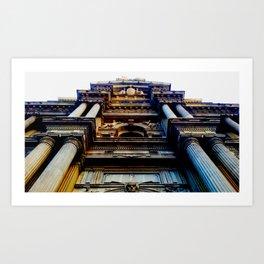 City Hall, Looming Art Print