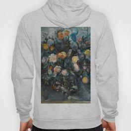 "Paul Cezanne ""Bouquet of flowers after Delacroix"" Hoody"