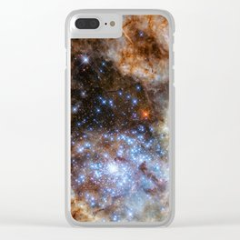 Monster Stars Clear iPhone Case