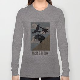 Invasion of the Crows Long Sleeve T-shirt