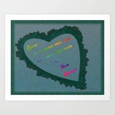 Love Wins - Eva Gabor Art Print