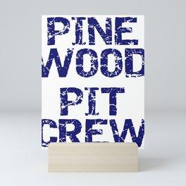 Boy Scouts Cub Scouts Pinewood Pit Crew Mini Art Print