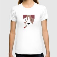 jack russell T-shirts featuring Pedigree: Jack Russell by Wise Idea